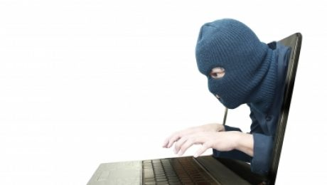 Hacker invading your laptop