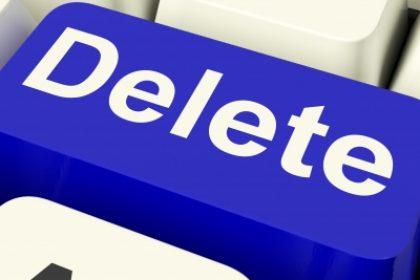 Warm up that delete key