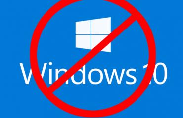 No Windows 10