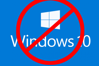 No Windows 10