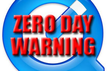 QuickTime zero day warning