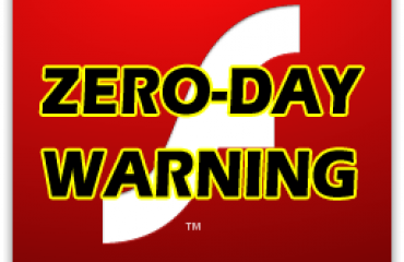 Flash zero day warning