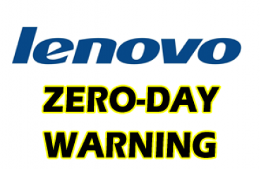 Lenovo zero day warning